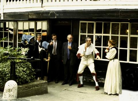 """Much Ado About Nothing"" at the George Inn"