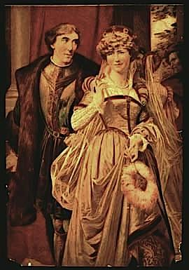 Much Ado About Nothing, Ellen Terry and Henry Irving as Benedick and Beatrice, 1870-90
