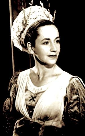 Much Ado About Nothing, Peggy Ashcroft as Beatrice, Shakespeare Memorial Theatre, Stratford, 1950