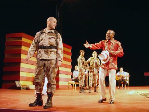 Much Ado: CST; Don John (Andy Murray) as Villain