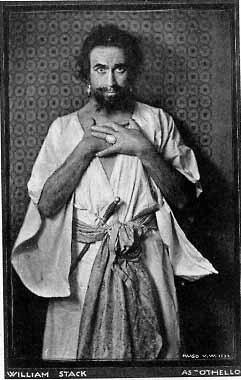 Othello, William Stack as Othello, 1922