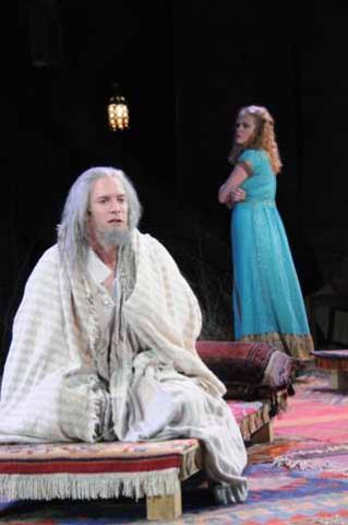 Pericles, 2008; Pericles recovers his daughter, Marina (Sarah Nealis).