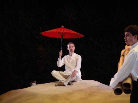 Prospero in The Tempest at the Bruns Theatre of the California Shakespeare Theatre, 2005.