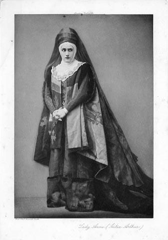 Richard III, Julia Arthur as Lady Anne