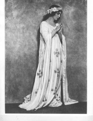 Romeo and Juliet, 1923-4: Jane Cowl (1884-1950) as Juliet