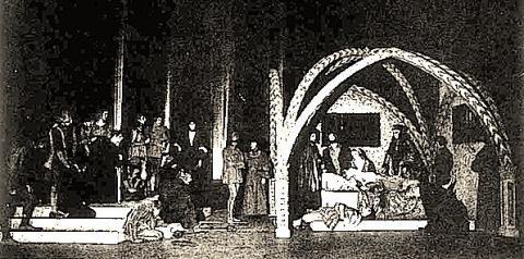 Romeo and Juliet, American Elizabethan Revival, New York, 1930