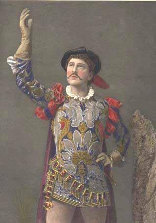Romeo and Juliet, William Terriss (18?? - 1897) as Romeo