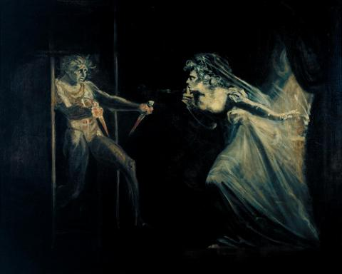 The Macbeths: by Henry Fuseli, 1812