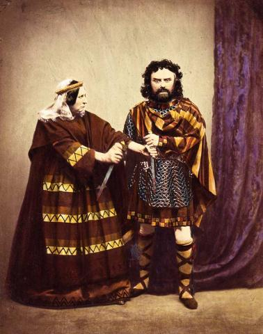 The Macbeths: Charles Kean and His Wife