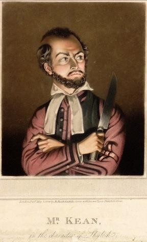 The Merchant of Venice, Edmund Kean (1789-1833) as Shylock