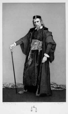 The Merchant of Venice, Sir Henry Irving (1838-1905) as Shylock