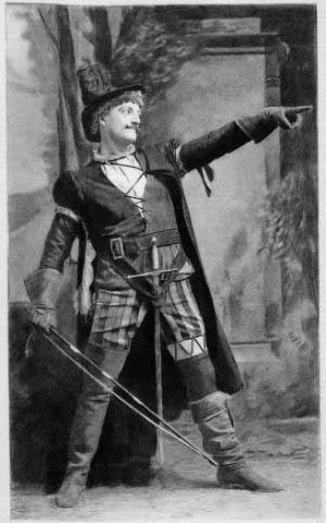 The Taming of the Shrew, John Drew as Petruchio, 1893