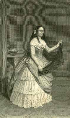 The Taming of the Shrew, Miss Kirkpatrick as Katharina, 1850