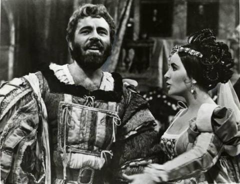 The Taming of the Shrew: Richard Burton as Petruchio, Elizabeth Taylor as Katherina