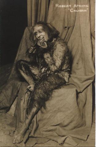 The Tempest, Robert Atkins as Caliban, 20th Century