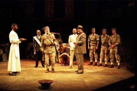 Titus Andronicus, Market Theatre & National Theatre, 1995