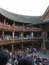 View from the Globe Middle Gallery