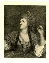 Sarah Siddons (née Kemble) as the Tragic Muse