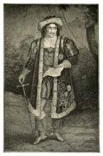 Charles Kean (1811-1868) as Richard III