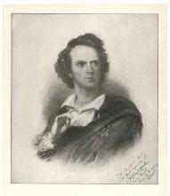 C.W. Couldock (1815-1898) as Hamlet