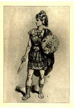John McCullough (1832-1885) as Coriolanus
