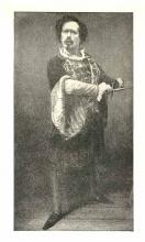 Mr. Charles Dillon (1819-1891) as Hamlet