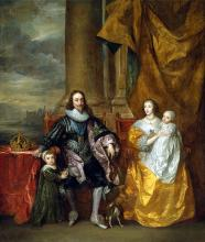 King Charles I & his Wife Queen Henrietta Maria