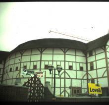 The Globe Theatre's Exterior