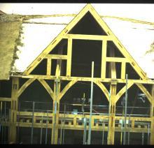 Globe Canopy Under Construction