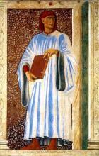 Portrait by Andrea del Castagno of Giovanni Boccaccio, Circa 1450