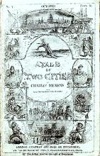 Cover of the Serial Publication of A Tale of Two Cities, 1859