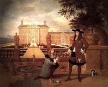 Royal Gardener John Rose and King Charles II (1675)