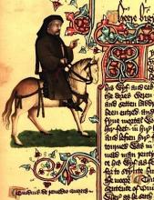 Chaucer as a Pilgrim