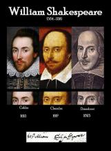Direct Comparisons Between the Shakespeares of the Cobbe Portrait, Chandos Portrait & Droeshout Engraving