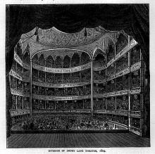 The Theatre Royal, Drury Lane, Built in 1794