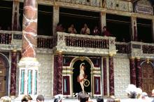 The Globe Stage,1999: Opening Serenade by Balcony Musicians