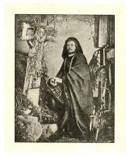 Charles Fechter (1824-1879) as Hamlet