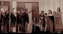 Caesar & Cleopatra: Burton Grammar School, 1946