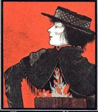 Mrs. Patrick Campbell as Liza in Shaw's Pygmalion, 1913