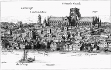 Old St. Paul's Cathedral, London (1647)