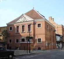 The Inigo Jones Theatre at the Globe Centre, London