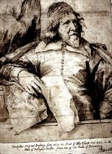 Inigo Jones (1632 - 1641): Drawing by Anthony van Dyck (1599 - 1641)