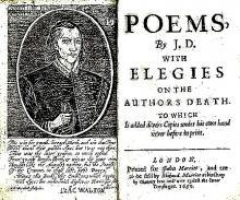 John Donne, Poems (1669)