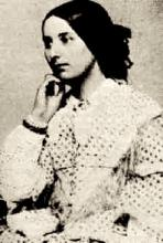 Ambrotype of Fanny Brawne taken in the 1850's