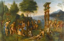 """Milton's Masque of Comus: a Precedent by Lorenzo Costa's """"Comus"""""""