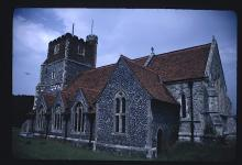 The Parish Church at Horton: near the Miltons' Country Home