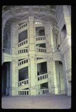 The Interior Double-Helix Staircase at Chambord Shows The Extraordinary Boldness of its Architecture
