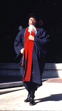 The Pedant Holofernes in Shakespeare's Love's Labour's Lost at UC Berkeley, 1977