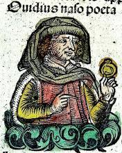 Publius Ovidius Naso in the Nuremberg Chronicle