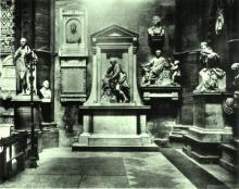 Poets Corner in Westminster Abbey